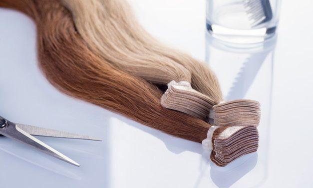 Trgovina z lasnimi podaljški, kjer tudi svetujejo