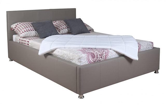 Oblazinjena postelja Kira 180x200