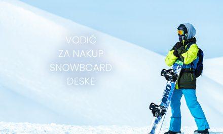Vodič za nakup snowboard deske