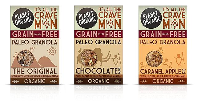 Presne granole Planet Organic